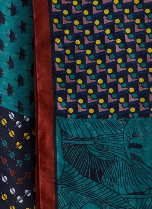 cc67af81b40d Echarpes et Foulards Monoprix Femme ETOLE PATCHWORK COLVERT Vert vue face