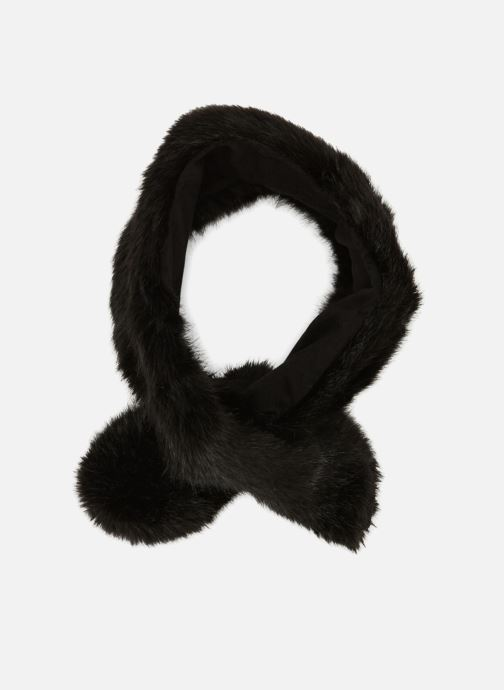Scarf Monoprix Femme ECHARPE FAUSSE FOURRURE Black detailed view/ Pair view