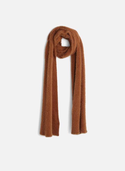 Sjaal Monoprix Femme ECHARPE UNIE POILUE Bruin detail