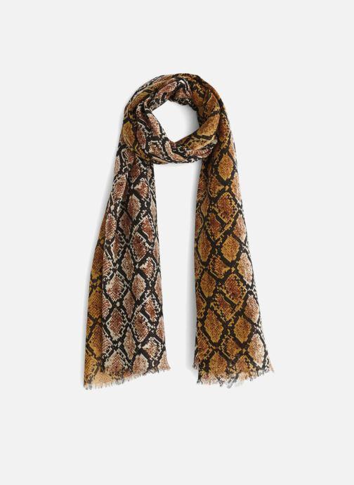 Sciarpa y foulard Monoprix Femme ETOLE LAINE REPTILE Marrone vedi dettaglio/paio