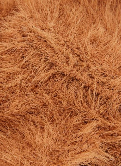 Hat Monoprix Femme BANDEAU ACRYLIQUE UNI Orange model view