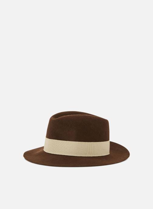 Chapeaux Monoprix Femme CHAPEAU LAINE GALON Marron vue détail/paire