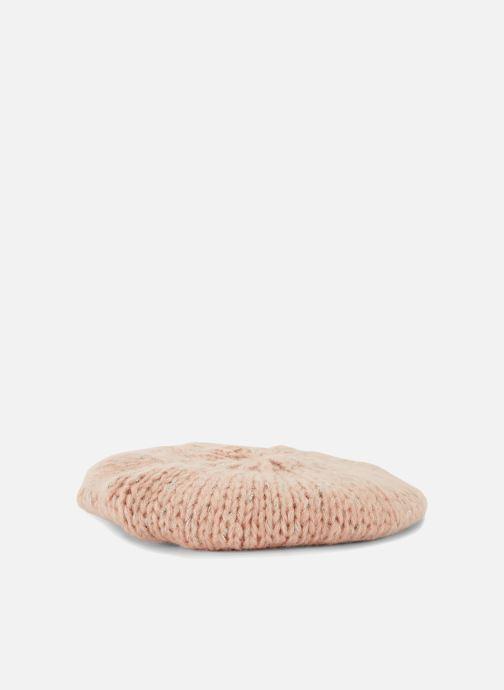 Chapeaux Monoprix Femme BERET TRICOT UNI Beige vue détail/paire
