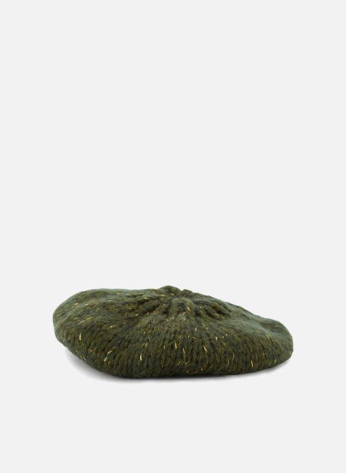 Chapeaux Monoprix Femme BERET TRICOT UNI Vert vue détail/paire