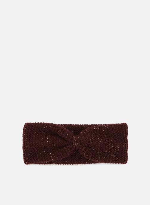 Chapeaux Monoprix Femme BANDEAU TRICOT POINT MOUSSE Violet vue détail/paire