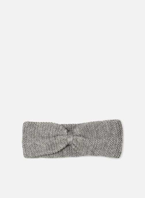 Chapeaux Monoprix Femme BANDEAU TRICOT POINT MOUSSE Gris vue détail/paire