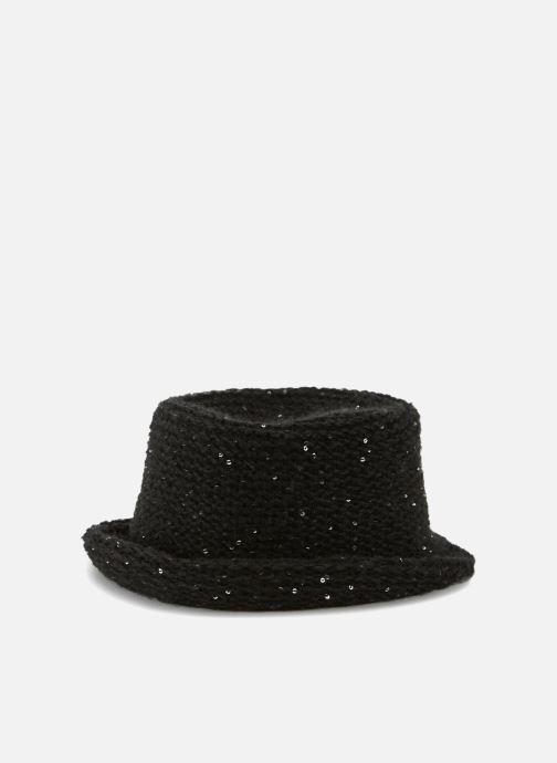 Chapeaux Monoprix Femme CHAPEAU TRICOT SEQUIN Noir vue portées chaussures