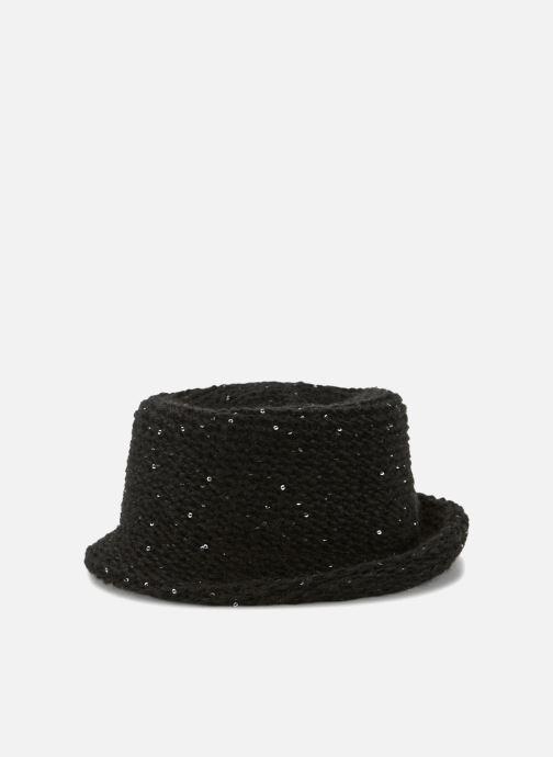 Hat Monoprix Femme CHAPEAU TRICOT SEQUIN Black detailed view/ Pair view