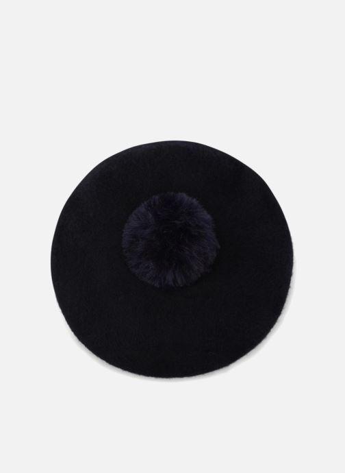 Chapeaux Monoprix Femme BÉRET LAINE POMPON Bleu vue détail/paire