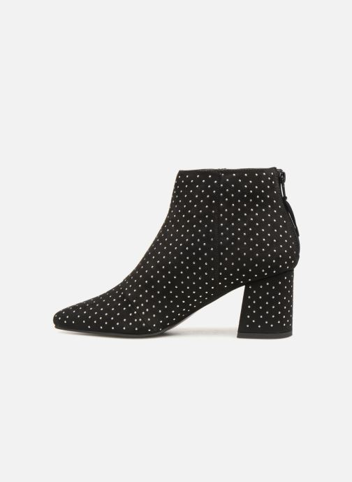 Bottines et boots Monoprix Femme BOOTS CLOU MICRO S Noir vue face