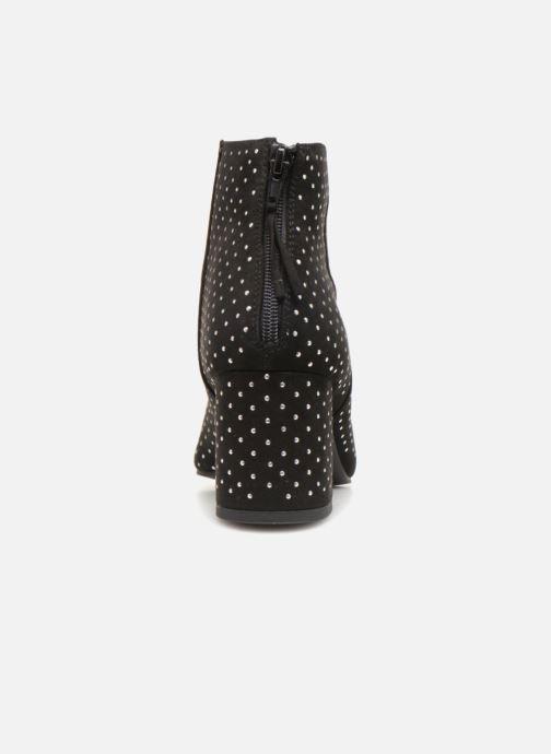 Bottines et boots Monoprix Femme BOOTS CLOU MICRO S Noir vue droite