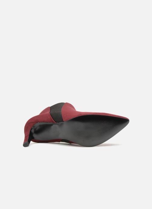Monoprix Pointu weinrot Micro amp; 360823 Femme Stiefeletten Boots rqPTnwr16