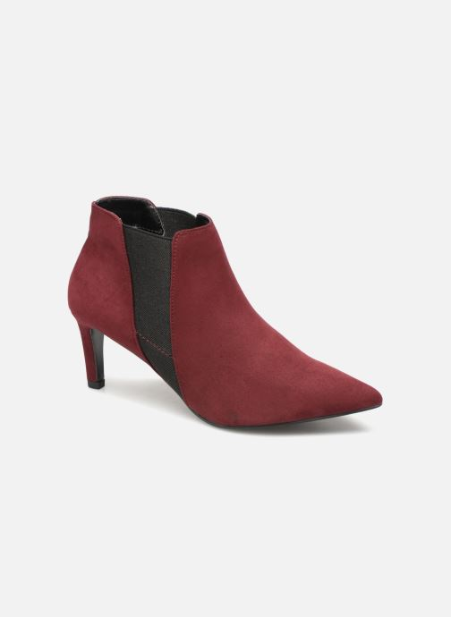 Ankle boots Monoprix Femme BOOTS MICRO POINTU Burgundy detailed view/ Pair view