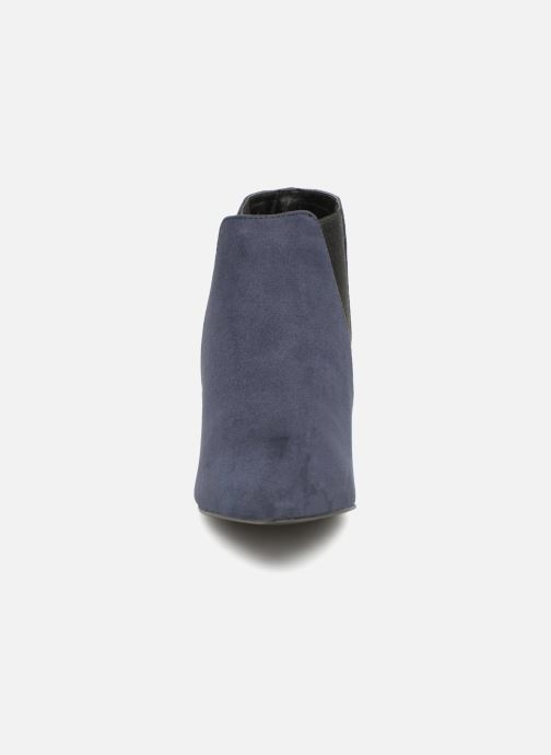 Stivaletti e tronchetti Monoprix Femme BOOTS MICRO POINTU Azzurro modello indossato