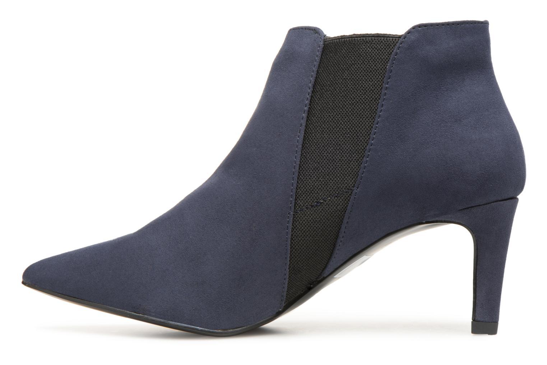 Stivaletti e tronchetti Monoprix Femme BOOTS MICRO POINTU Azzurro immagine frontale