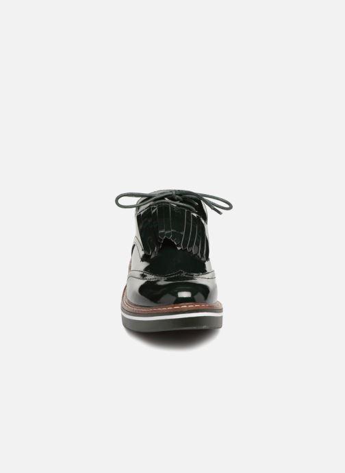 Zapatos con cordones Monoprix Femme DERBY PATE MEXICAINE Verde vista del modelo