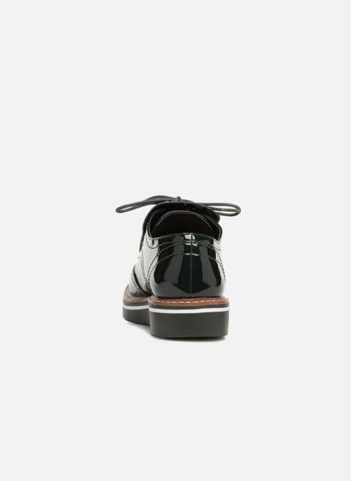 Zapatos con cordones Monoprix Femme DERBY PATE MEXICAINE Verde vista lateral derecha