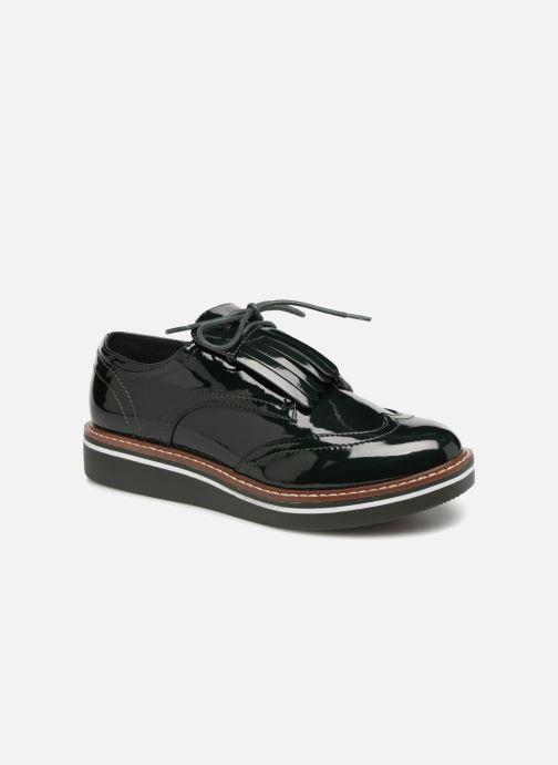 Zapatos con cordones Monoprix Femme DERBY PATE MEXICAINE Verde vista de detalle / par