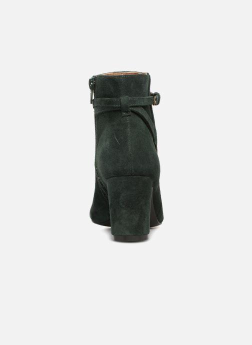 Boots en enkellaarsjes Monoprix Femme BOOTS TALON ET BOUCLE Groen rechts