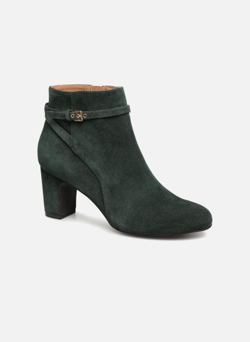 Ankle boots Monoprix Femme BOOTS TALON ET BOUCLE Green detailed view/ Pair view