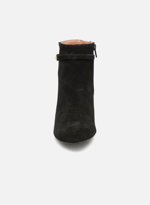 Bottines et boots Monoprix Femme BOOTS TALON ET BOUCLE Noir vue portées chaussures