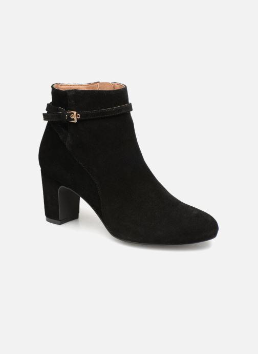 Bottines et boots Monoprix Femme BOOTS TALON ET BOUCLE Noir vue détail/paire
