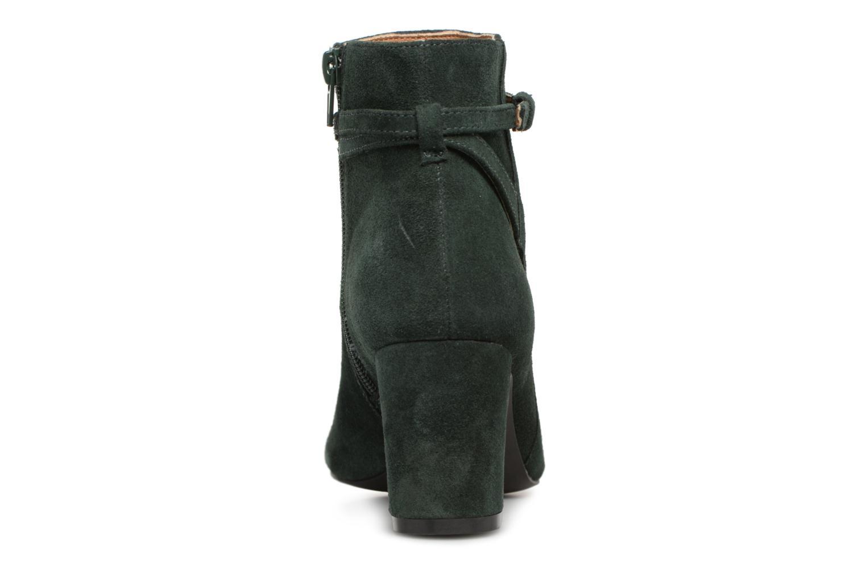 Stivaletti e tronchetti Monoprix Femme BOOTS TALON ET BOUCLE Verde immagine destra