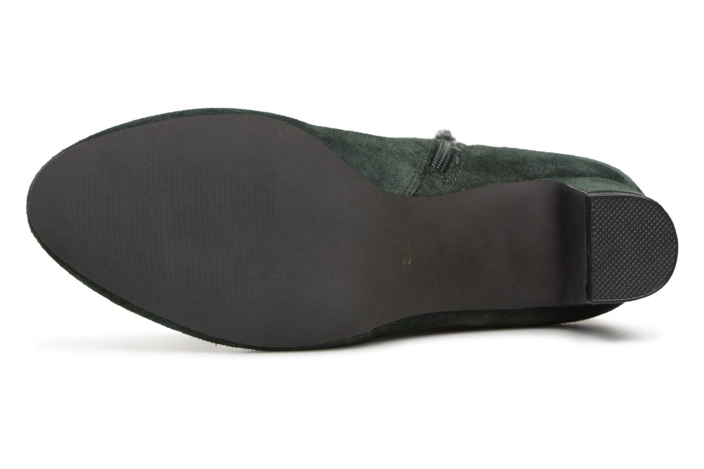 Stivaletti e tronchetti Monoprix Femme BOOTS TALON ET BOUCLE Verde immagine dall'alto
