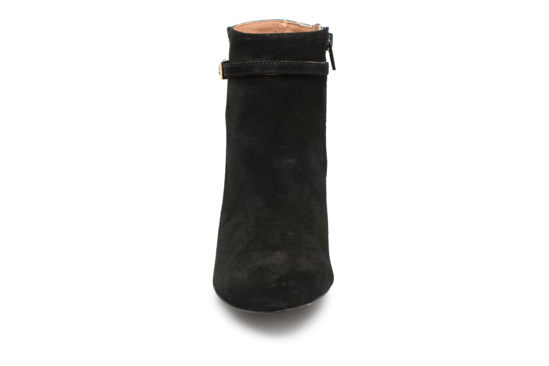 Stivaletti e tronchetti Monoprix Femme BOOTS TALON ET BOUCLE Nero modello indossato