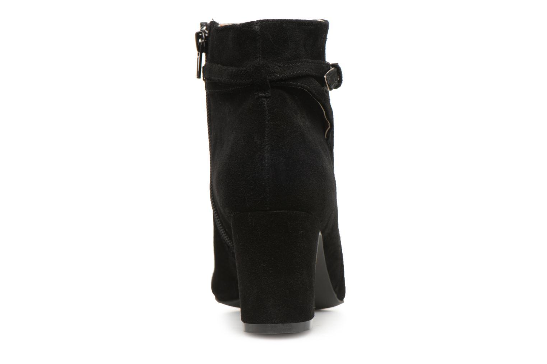 Stivaletti e tronchetti Monoprix Femme BOOTS TALON ET BOUCLE Nero immagine destra