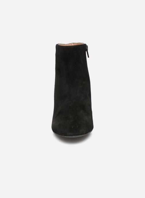 Bottine Et Noir Brillant Femme Bottines Monoprix Boots Talon odCxWreB
