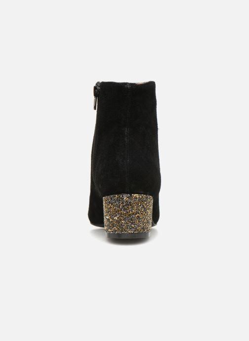 Femme Monoprix Stiefeletten 360832 Brillant Talon Bottine amp; schwarz Boots AqBwxdq