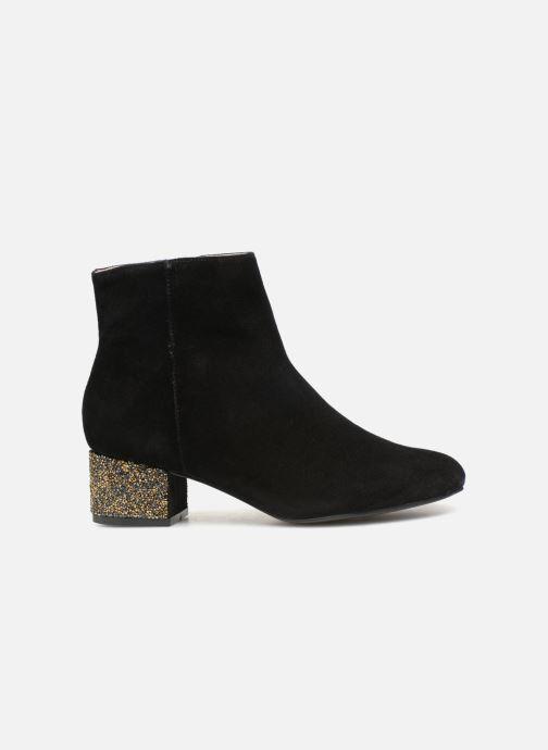 Bottines et boots Monoprix Femme BOTTINE TALON BRILLANT Noir vue derrière