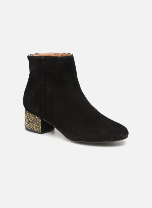 Bottines et boots Monoprix Femme BOTTINE TALON BRILLANT Noir vue détail/paire