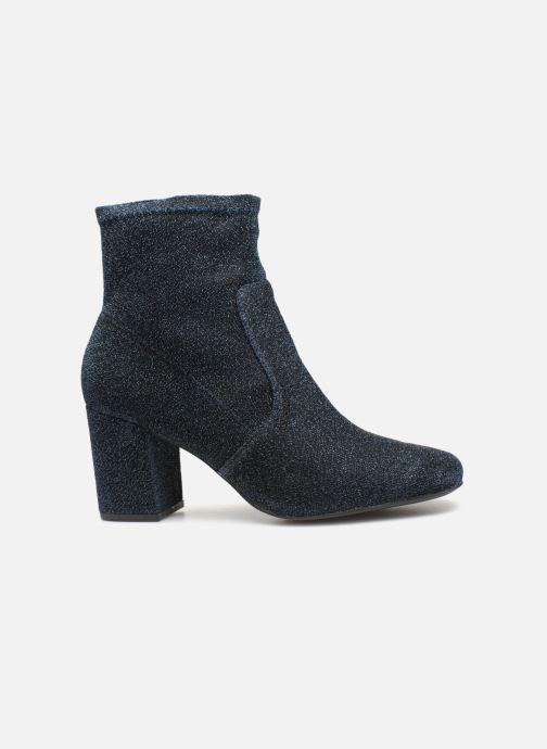Bottines et boots Monoprix Femme BOOTS CHAUSSETTE PAILLETTE Bleu vue derrière