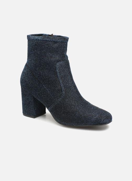 Stivaletti e tronchetti Monoprix Femme BOOTS CHAUSSETTE PAILLETTE Azzurro vedi dettaglio/paio