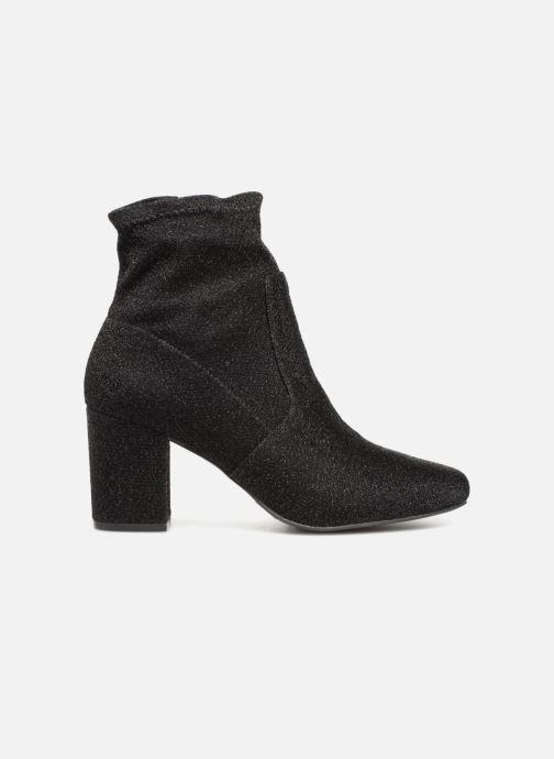 Ankle boots Monoprix Femme BOOTS CHAUSSETTE PAILLETTE Black back view