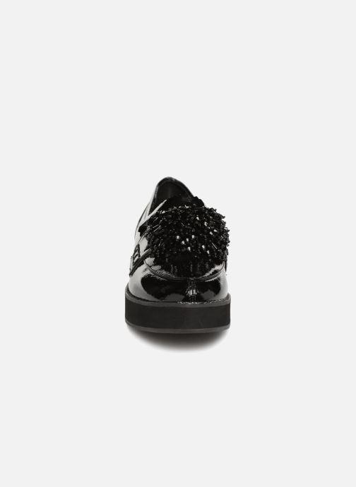 Femme Mocassin schwarz Monoprix Slipper 360836 Compense R1AaaZq