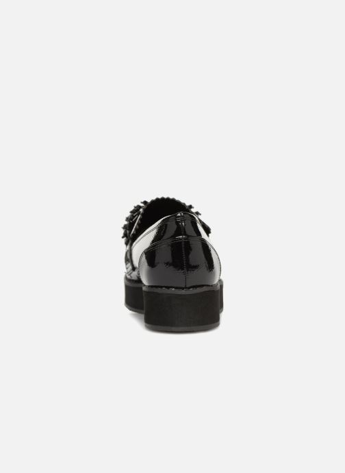 Loafers Monoprix Femme MOCASSIN COMPENSE Black view from the right