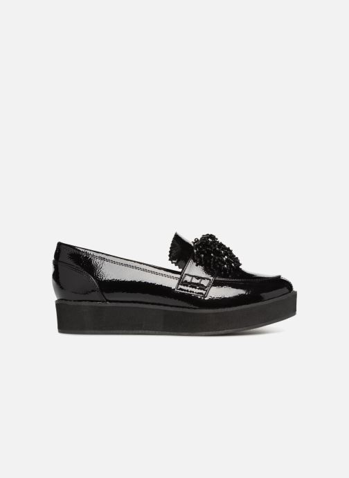 Loafers Monoprix Femme MOCASSIN COMPENSE Black back view