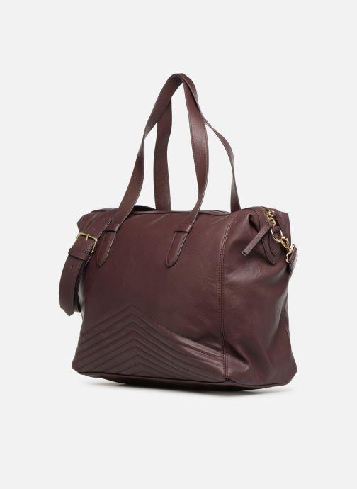 Handtaschen Monoprix Femme SAC 24H PU MATELASSE lila schuhe getragen