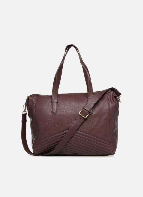 Handtaschen Monoprix Femme SAC 24H PU MATELASSE lila ansicht von vorne