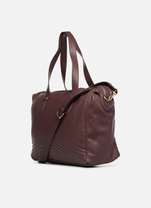 Handtaschen Monoprix Femme SAC 24H PU MATELASSE lila ansicht von rechts