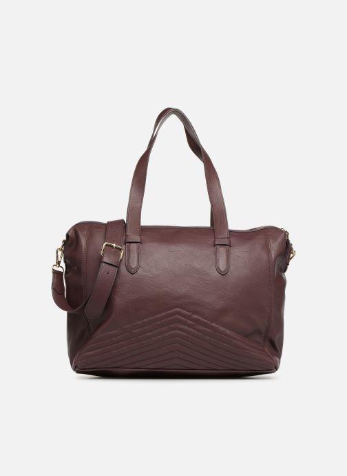Handtaschen Monoprix Femme SAC 24H PU MATELASSE lila detaillierte ansicht/modell