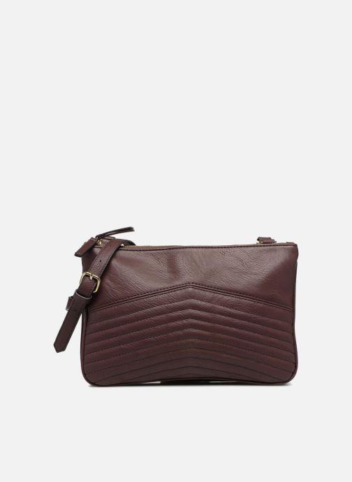 Handtaschen Monoprix Femme POCHETTE PU 2 ZIP MATELASSE lila detaillierte ansicht/modell