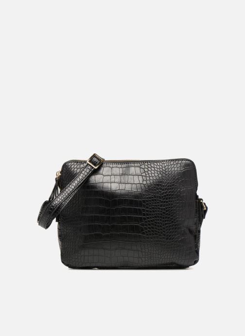 Handtaschen Monoprix Femme POCHETTE 2 COMPARTIMENTS SERPENT schwarz detaillierte ansicht/modell