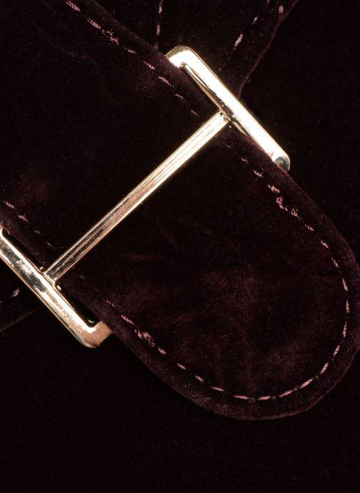 Handbags Monoprix Femme POCHETTE VELOURS MATELASSEE Purple view from the left