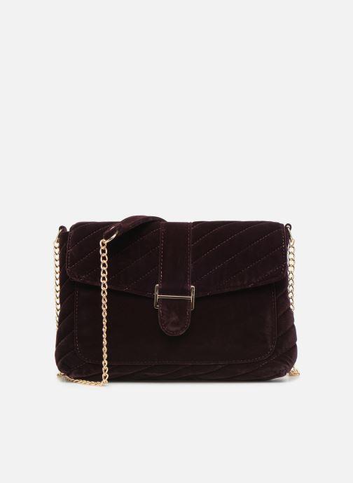 Handbags Monoprix Femme POCHETTE VELOURS MATELASSEE Purple detailed view/ Pair view