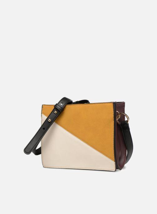 Handtaschen Monoprix Femme POCHETTE PU TRICOLORE mehrfarbig schuhe getragen