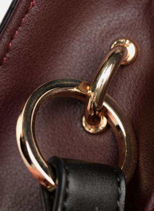 Handtaschen Monoprix Femme POCHETTE PU TRICOLORE mehrfarbig ansicht von links